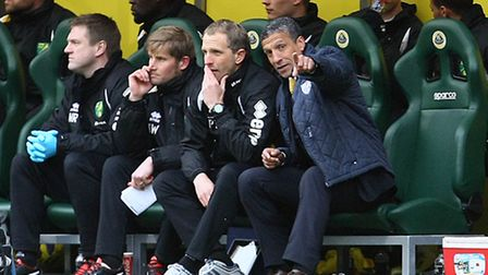 Instead of heading for Old Trafford on a run of 10 matches without a win, Chris Hughton's team can t