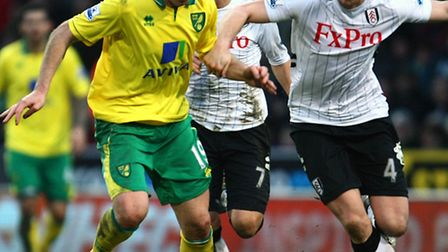Norwich City striker Luciano Becchio played the full 90 minutes in the club's 3-2 development league