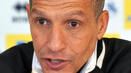 Chris Hughton admits Norwich City have endured a bumpy ride at times during his first season at the