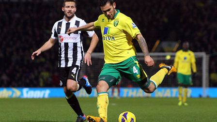 Bradley Johnson ranks joint second in the Canaries' squad for attempts on goal with 34, but has scor