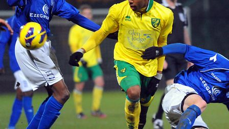 Reece Hall-Johnson is one of those impressing for Norwich City's youth teams. Canaries will be hopin