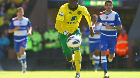 Kei Kamara keeps his eyes on the prize against Reading. Picture by Paul Chesterton/Focus Images