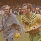 Robert Fleck, crowned player of the year before kick-off, secured the point against Wimbledon that d