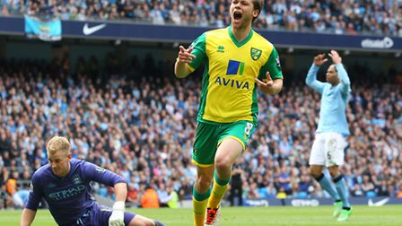 Jonny Howson's magnificent goal at Manchester City capped off a fine finish to the season from the m