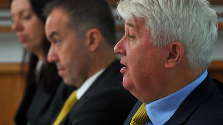 Chairman Alan Bowkett (right) and David McNally have turned around the Canaries finances. So whats n