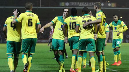 Will the Canaries still be celebrating at the end of the season?& Picture by Paul Chesterton/Focus I