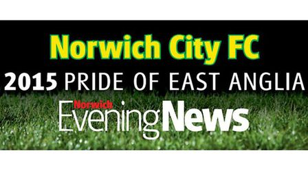 Get your Norwich City - Pride of Anglia window sticker in Tuesday's Evening News.