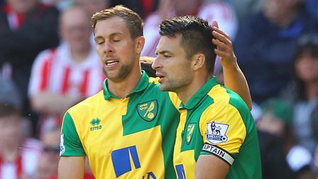 Defensive duo Steven Whittaker and Russell Martin both found the net at Sunderland. Picture by Paul