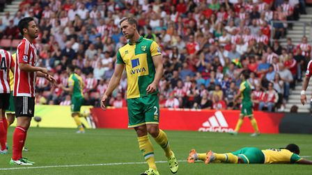 Cameron Jerome misses a great chance against Southampton. Picture by Paul Chesterton/Focus Images Lt
