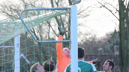 Norwich Sunday League. Horsford United Sunday v Vale Longo in Division 1A.PHOTO BY SIMON FINLAY