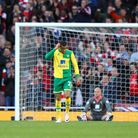 The Norwich City players after conceding at Arsenal. Picture: Paul Chesterton/Focus Images