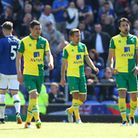 The Norwich City players face up to relegation at Everton.