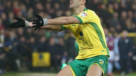 Nelson Oliveira joined Alex Neil in front of the press - including our own Michael Bailey and david