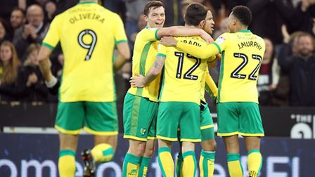 Jonny Howson celebrates scoring Norwich City's equaliser on Friday - but that was as good as things