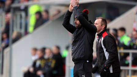 Beating Norwich City was special for Rotherham's City-supporting interim boss Paul Warne. Picture by