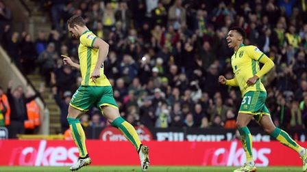 Steven Whittaker celebrates scoring his side's first equaliser from the penalty spot, in their FA Cu