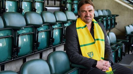 Head coach Daniel Farke takes charge of his first game tonight. Picture: Denise Bradley