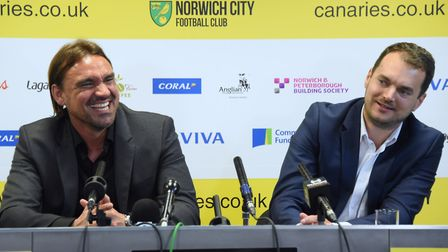 Norwich City duo Daniel Farke and Stuart Webber have been linked with German defender Toni Leistner.