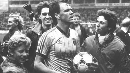 John Deehan proved to be an immediate hit at Carrow Road upon his arrival in 1981 - so much so, he h