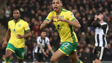 Jacob Murphy celebrates after scoring against Newcastle last season - the Magpies are now reportedly