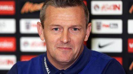 England U21 manager Aidy Boothroyd . Picture: PA