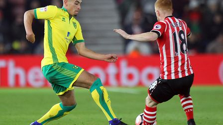 Ben Godfrey has looked impressive, pictured in FA Cup action at Southampton. Picture by Paul Chester