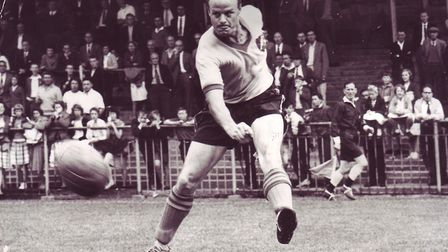 Bill Punton during his Norwich City playing days. Picture: ARCHANT LIBRARY