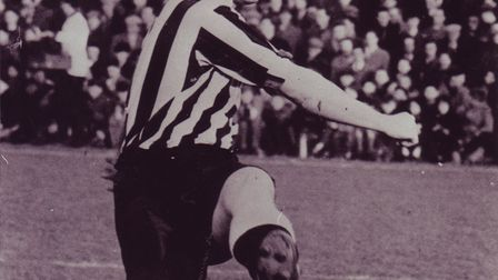 Punton also played for Newcastle. Photo: Archant Library