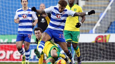 Danny Williams, pictured battling in midfield with Norwich City's Jonny Howson, is yet to sign a new