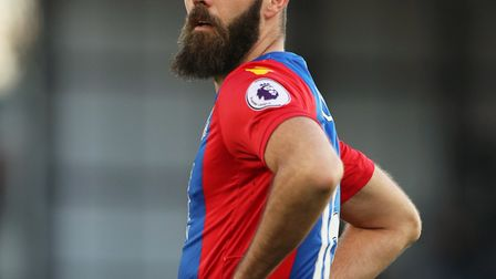 Wales international Joe Ledley has been released by Crystal Palace. Picture: PA