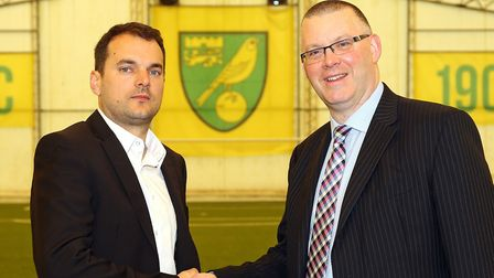 Sporting director Stuart Webber and managing director Steve Stone are looking to bring the good time