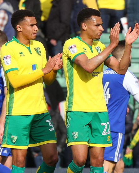 Last season was a breakthrough one for academy products Josh and Jacob Murphy at Norwich City. Pictu