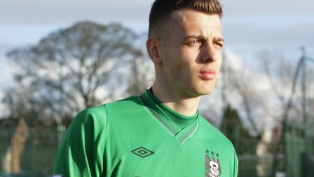 Angus Gunn will spend next season on loan at Norwich City. Picture: Manchester City