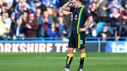 Jonny Howson is poised to leave Norwich City this summer. Picture: Paul Chesterton/Focus Images Ltd