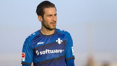 Mario Vrancic in Darmstadt action last season. Picture: Pascu Mendez/DPA