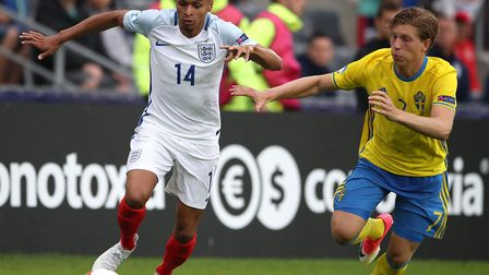 England U21s winger Jacob Murphy is getting unwanted attention on and off the pitch at the European