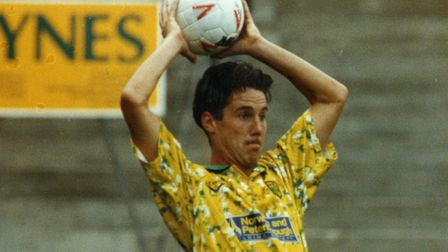 Ian Culverhouse during his playing days with Norwich City. Picture: Archant library