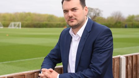 Norwich City sporting director Stuart Webber has beefed up the club's scouting. Picture: DENISE BRAD