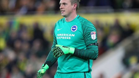 David Stockdale has joined Birmingham after his contract with Brighton expired. Picture by Paul Ches