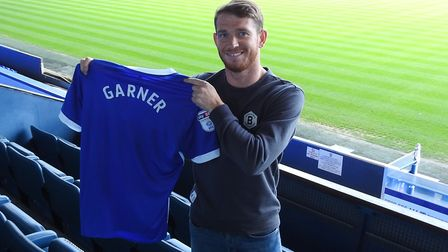 Ipswich Town have signed striker Joe Garner for a fee of around £1m from Rangers. Photo: ITFC