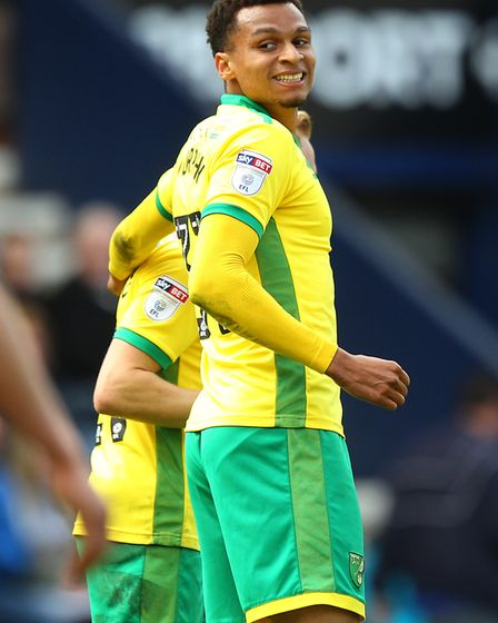 Josh Murphy scored Norwich City's final goal of the last Championship season. Picture: Paul Chestert