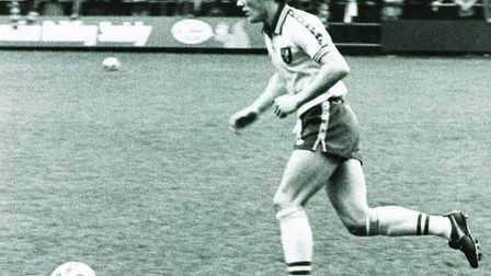 Phil Lythgoe followed in his father's footsteps in playing for Norwich City. Picture: Archant Librar