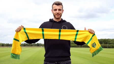 Angus Gunn will link up with Norwich City after England Under-21 duty. Picture: JasonPix