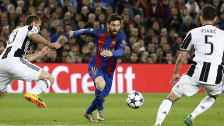 Barcelona scored 116 scored in 38 matches for an average of 3.1 per game, with Argentina star Lionel