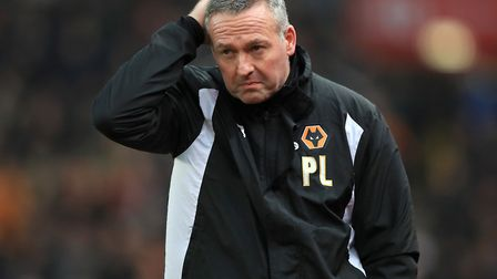 Paul Lambert has left his role as Wolves manager, the club have announced. Picture: Mike Egerton/PA