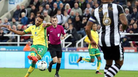 Jacob Murphy fired Norwich 3-1 up against Newcastle at St James' Park in a 4-3 loss last September.