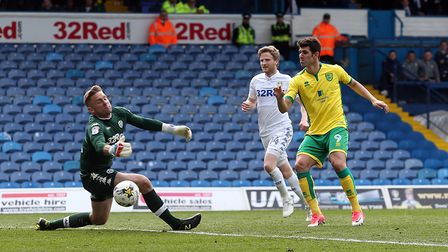 Norwich City striker Nelson Oliveira has been touted with Reading. Picture: Paul Chesterton/Focus I
