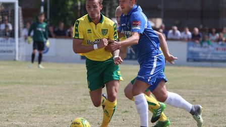 James Maddison impressed for Norwich at Lowestoft. Picture by Paul Chesterton/Focus Images Ltd