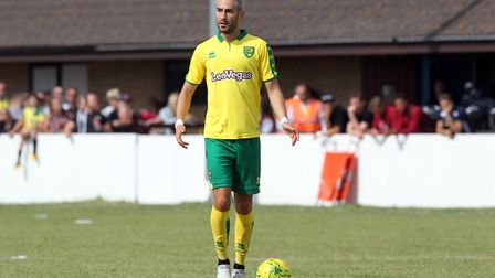 Mario Vrancic continues to impress during Norwich City's pre-season exchanges. Picture: Paul Chester