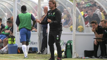 Daniel Farke is on the look out for new faces. Picture: Paul Chesterton/Focus Images Ltd
